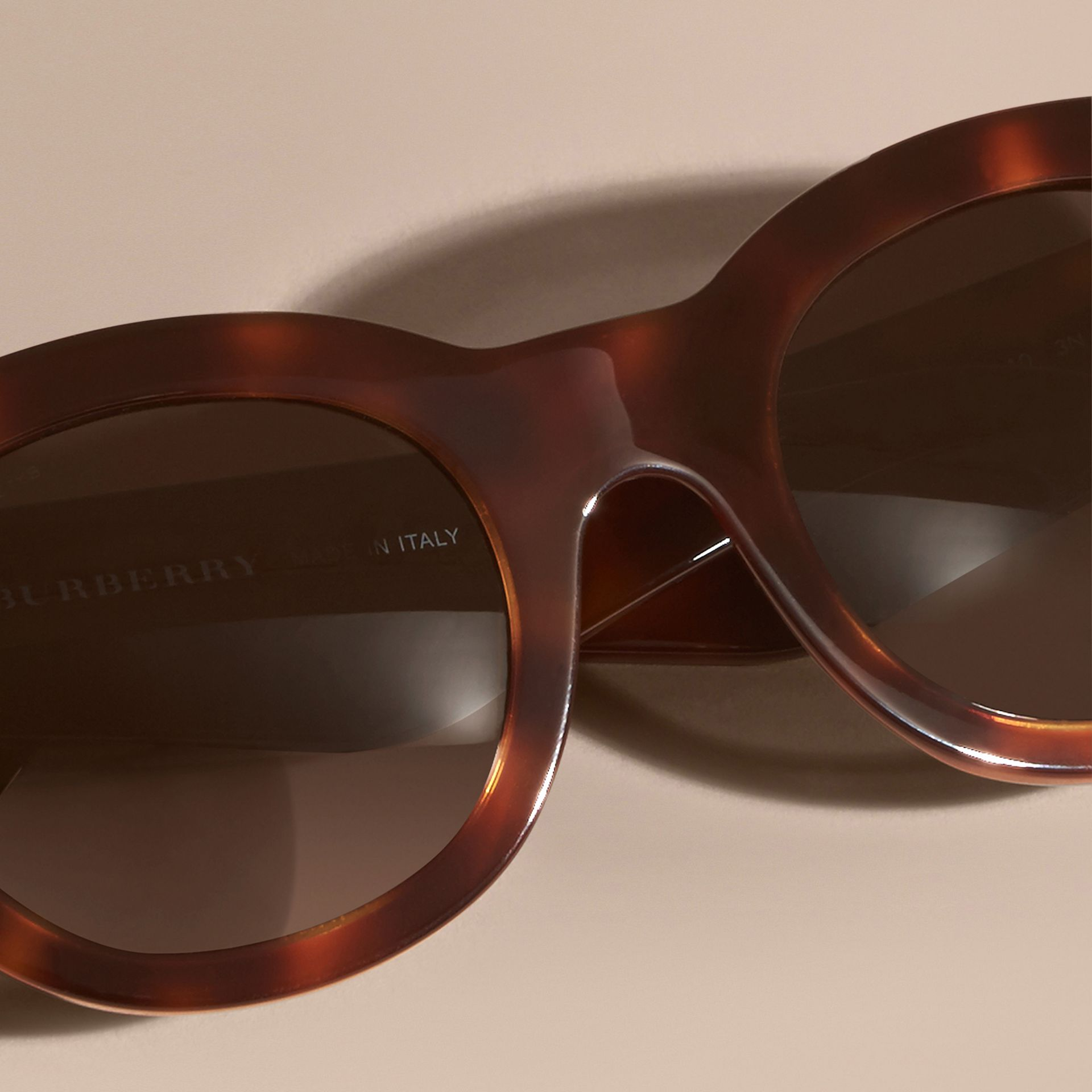 Tortoise shell Cat-eye Sunglasses Tortoise Shell - gallery image 3