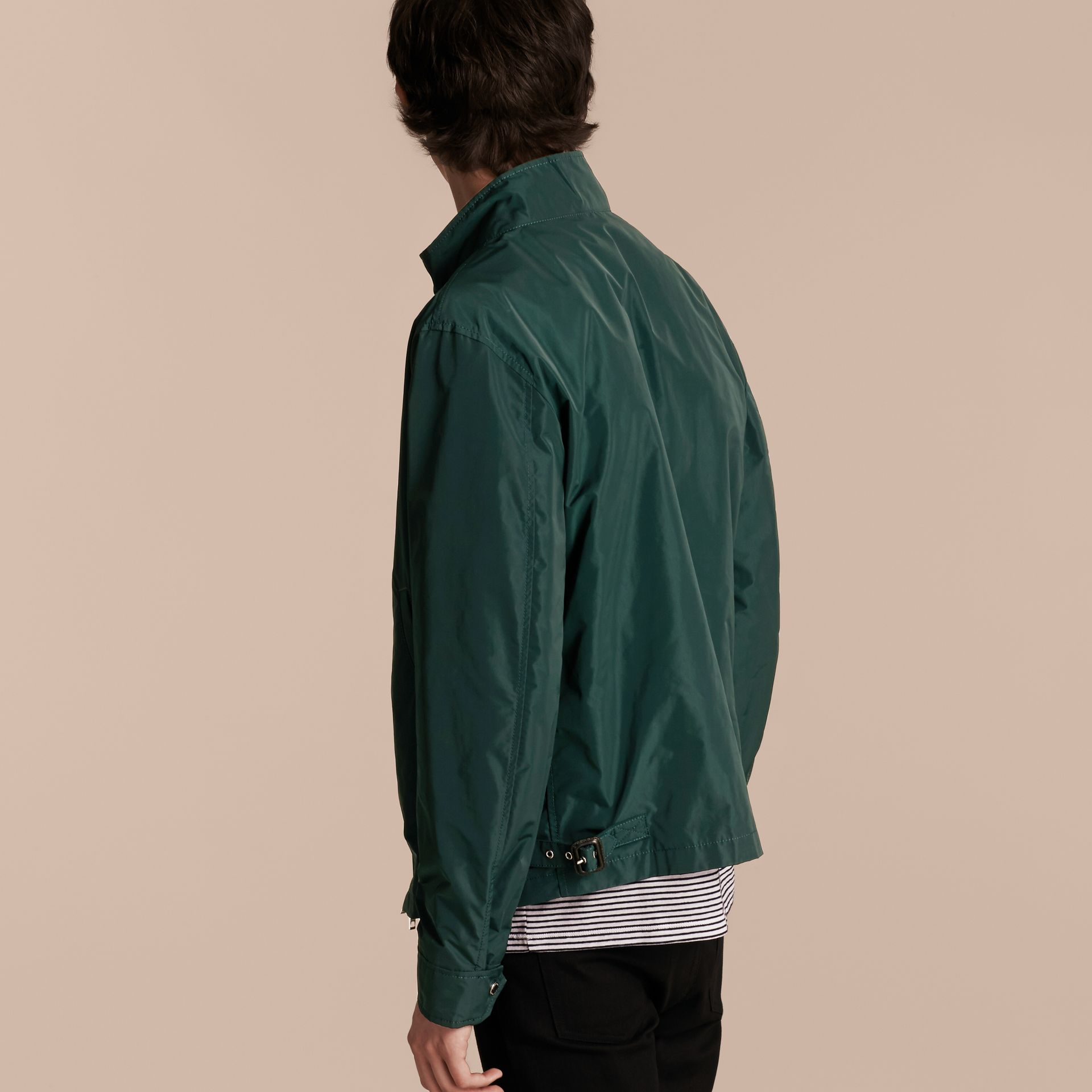 Lightweight Technical Jacket in Racing Green - Men | Burberry - gallery image 6