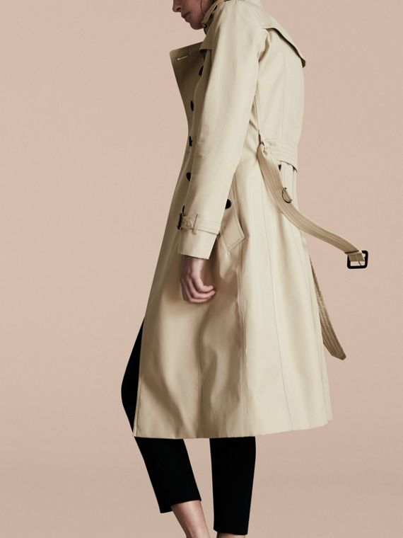 Stone The Chelsea – Extra-long Heritage Trench Coat Stone - cell image 2