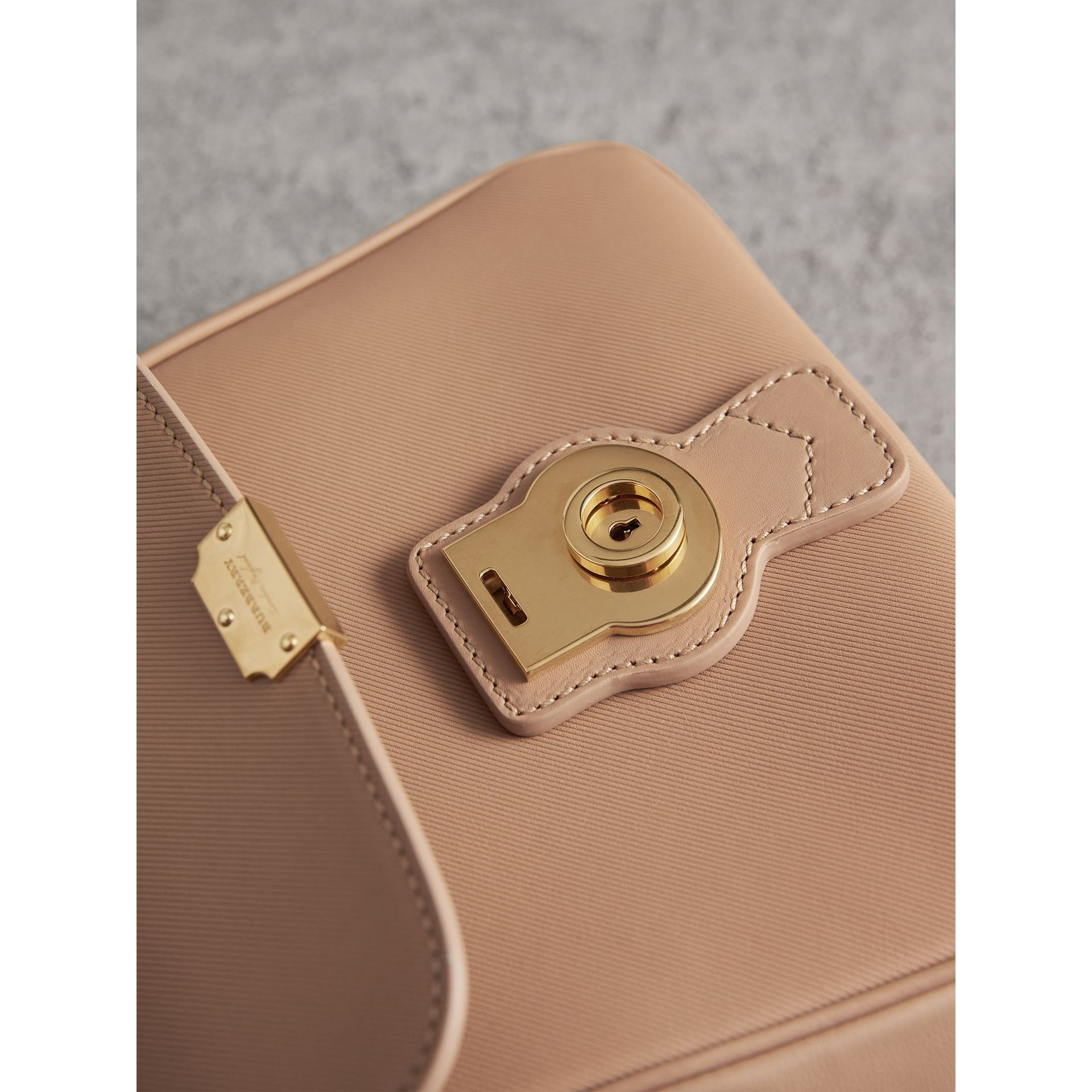 The Small DK88 Top Handle Bag in Honey - Women | Burberry Australia - gallery image 1