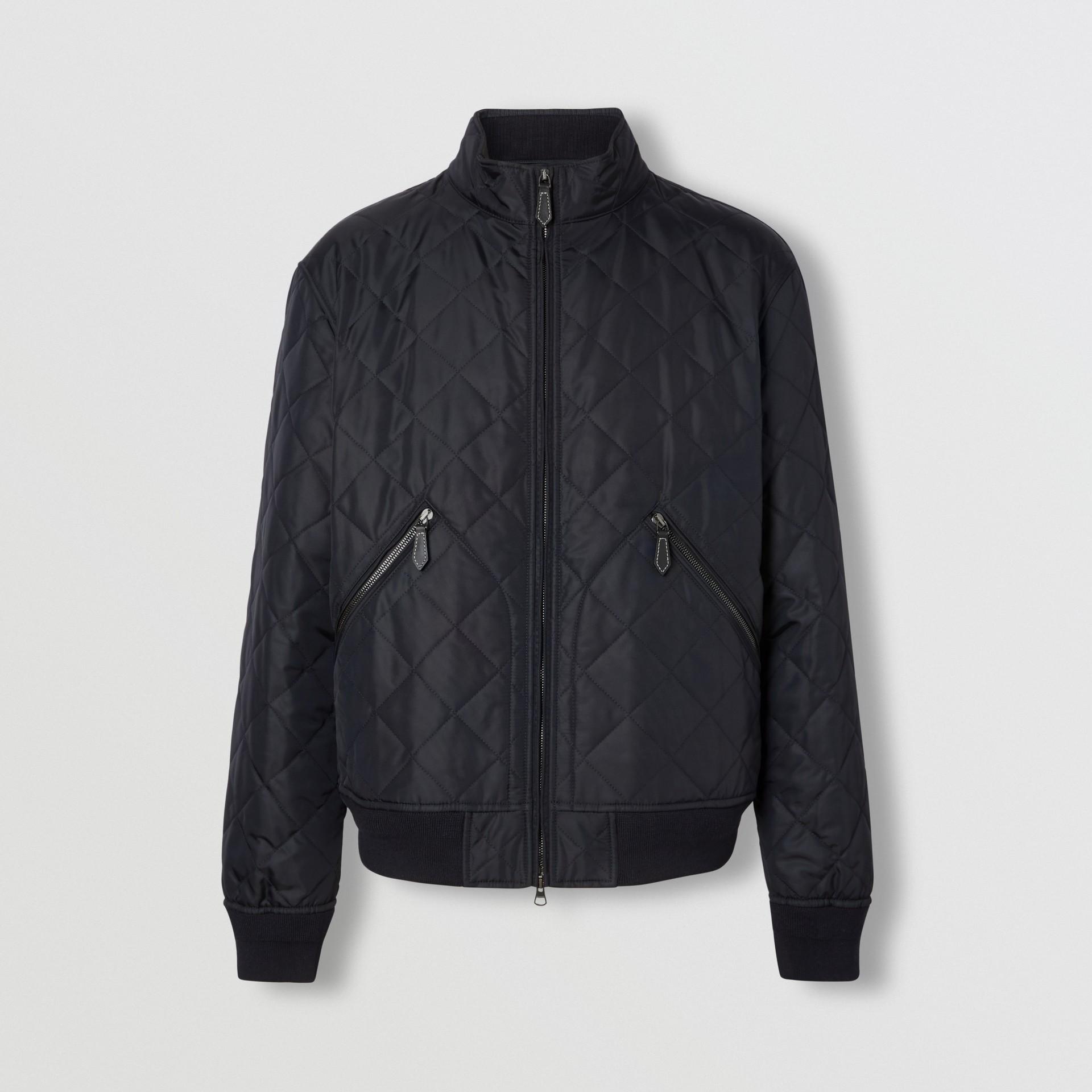 다이아몬드 퀼팅 체온조절 재킷 (네이비) - 남성 | Burberry - 갤러리 이미지 3