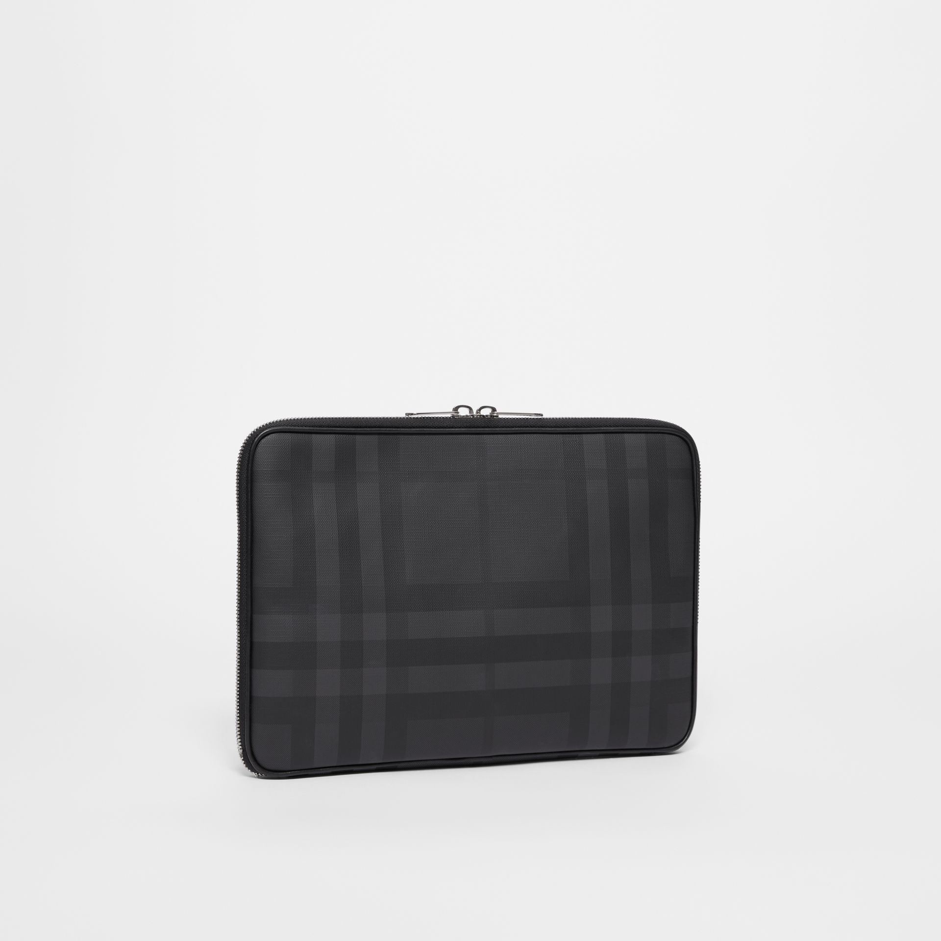 London Check Digital Case in Dark Charcoal - Men | Burberry Canada - gallery image 4