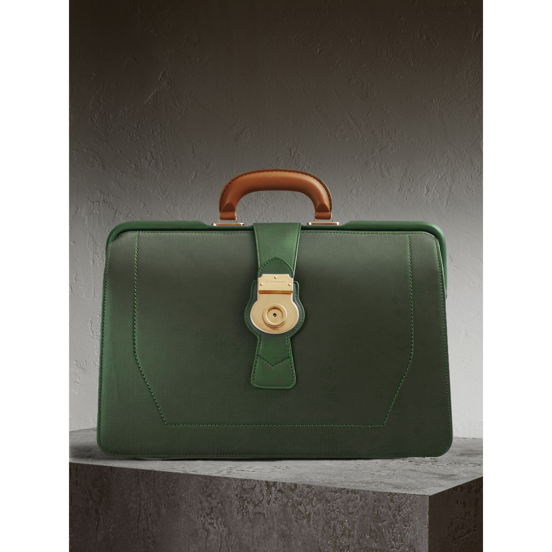 The DK88 Doctor's Bag in Dark Forest Green - Men | Burberry United States - gallery image 1