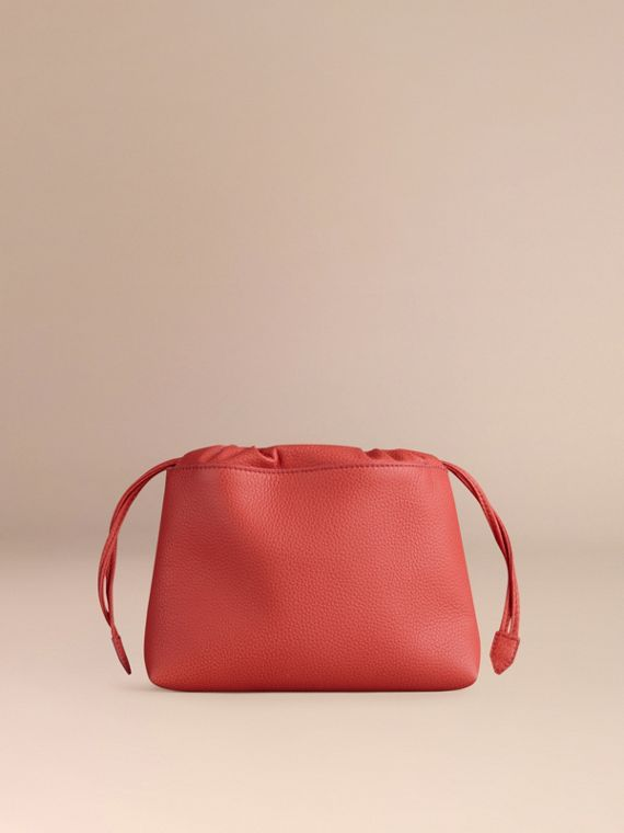 Bright peony The Mini Crush in Grainy Leather Bright Peony - cell image 3