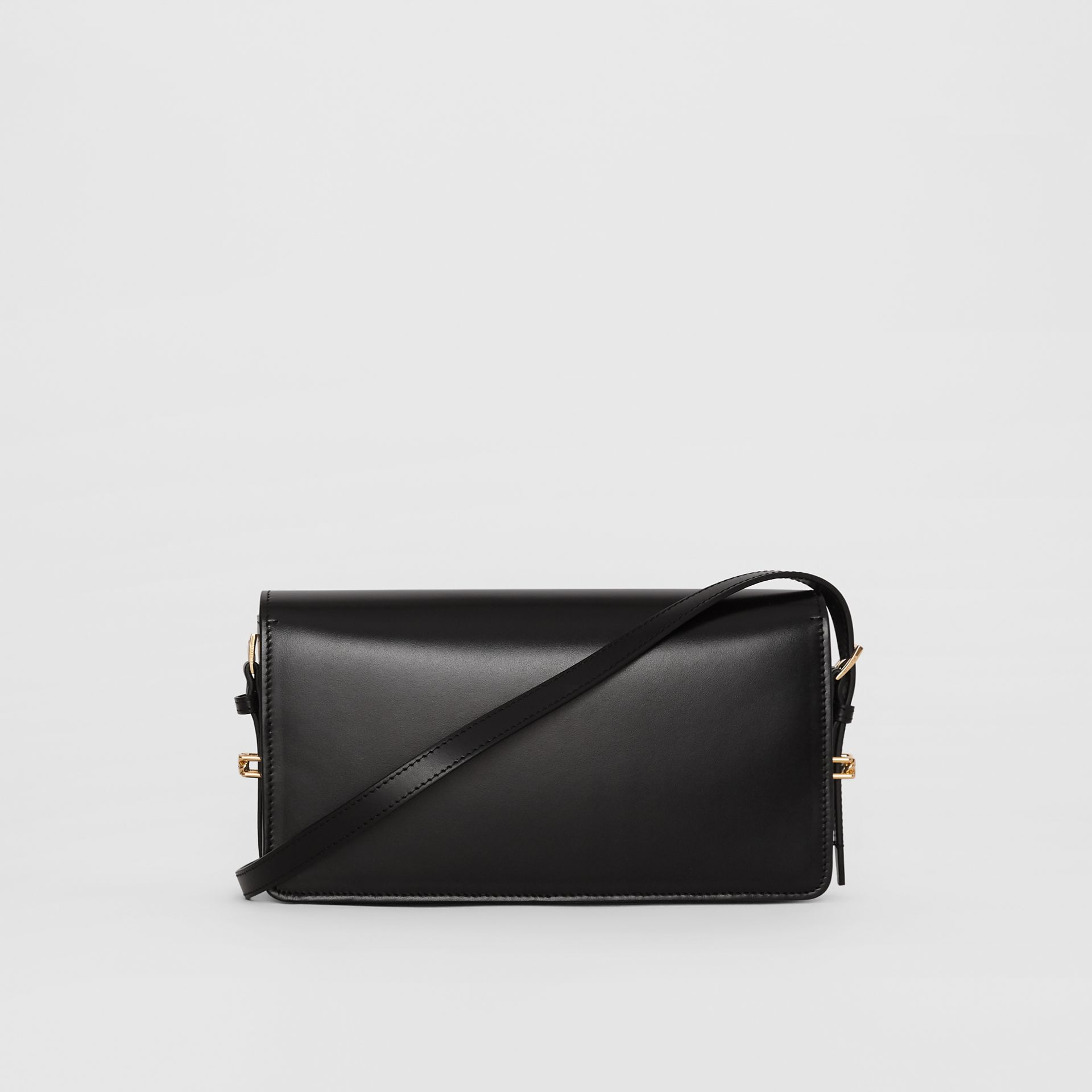 Mini Leather Grace Bag in Black - Women | Burberry - gallery image 7