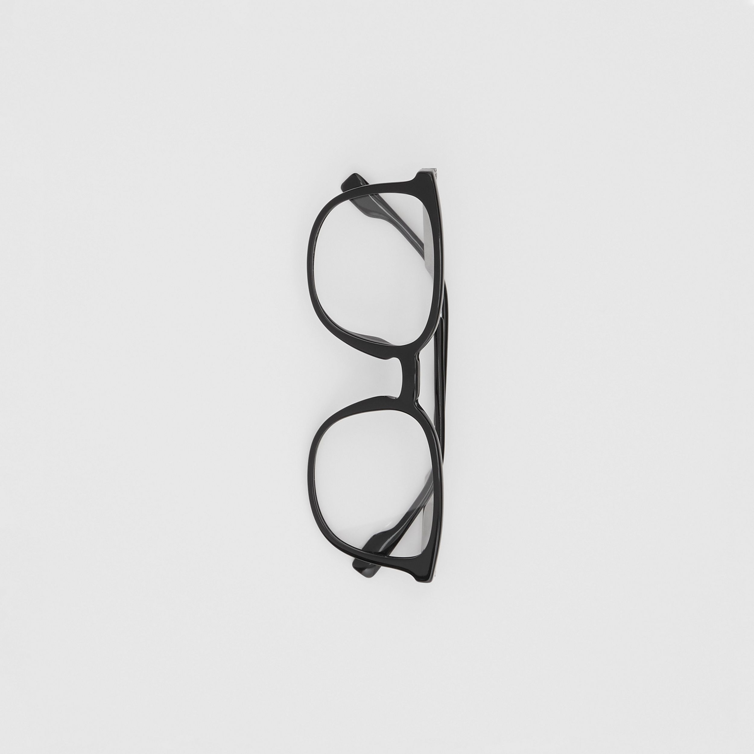 Square Optical Frames in Black | Burberry - 3