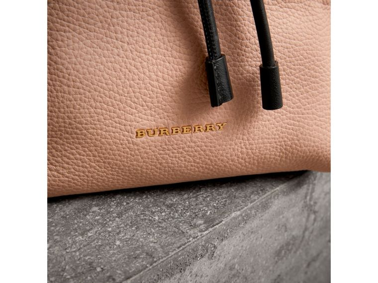 The Medium Rucksack in Deerskin with Resin Chain in Pale Apricot - Women | Burberry United States - cell image 1