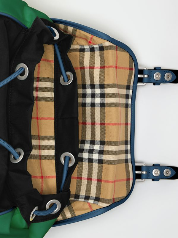 Tri-tone Nylon and Leather Backpack in Black - Men | Burberry Australia - cell image 3