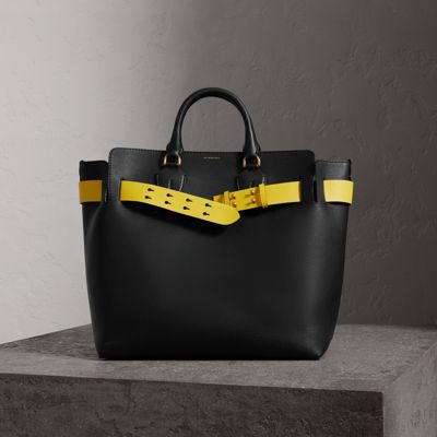 The Large Leather Belt Bag by Burberry