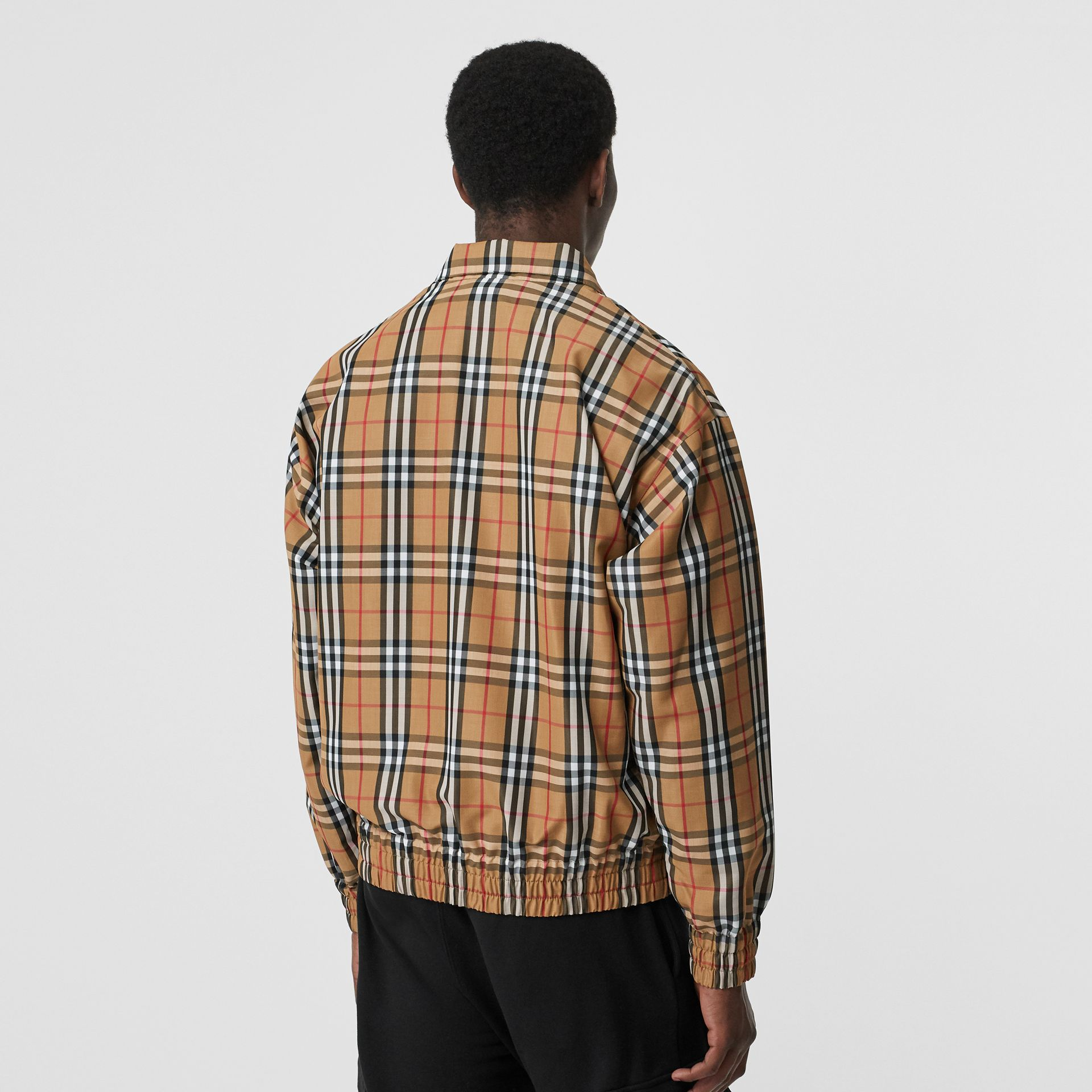 Vintage Check Lightweight Jacket in Yellow - Men | Burberry Australia - gallery image 2