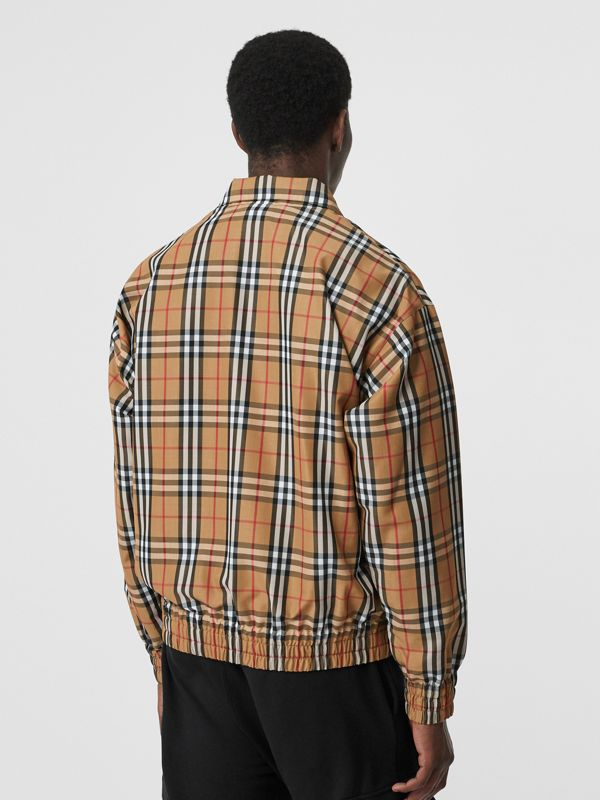 Vintage Check Lightweight Jacket in Yellow - Men | Burberry Hong Kong - cell image 2