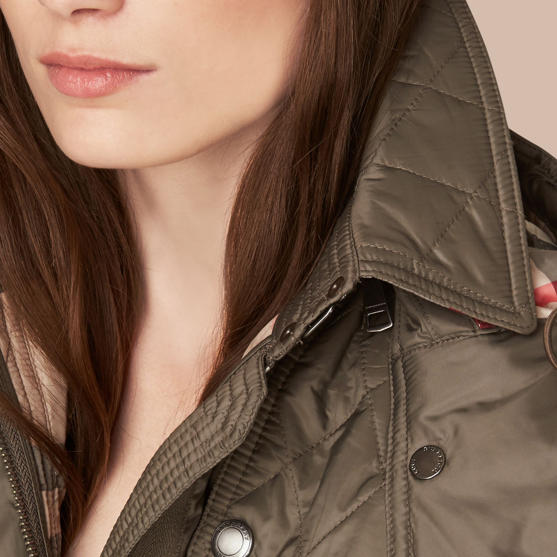 Diamond Quilted Coat - Women | Burberry Canada - gallery image 4