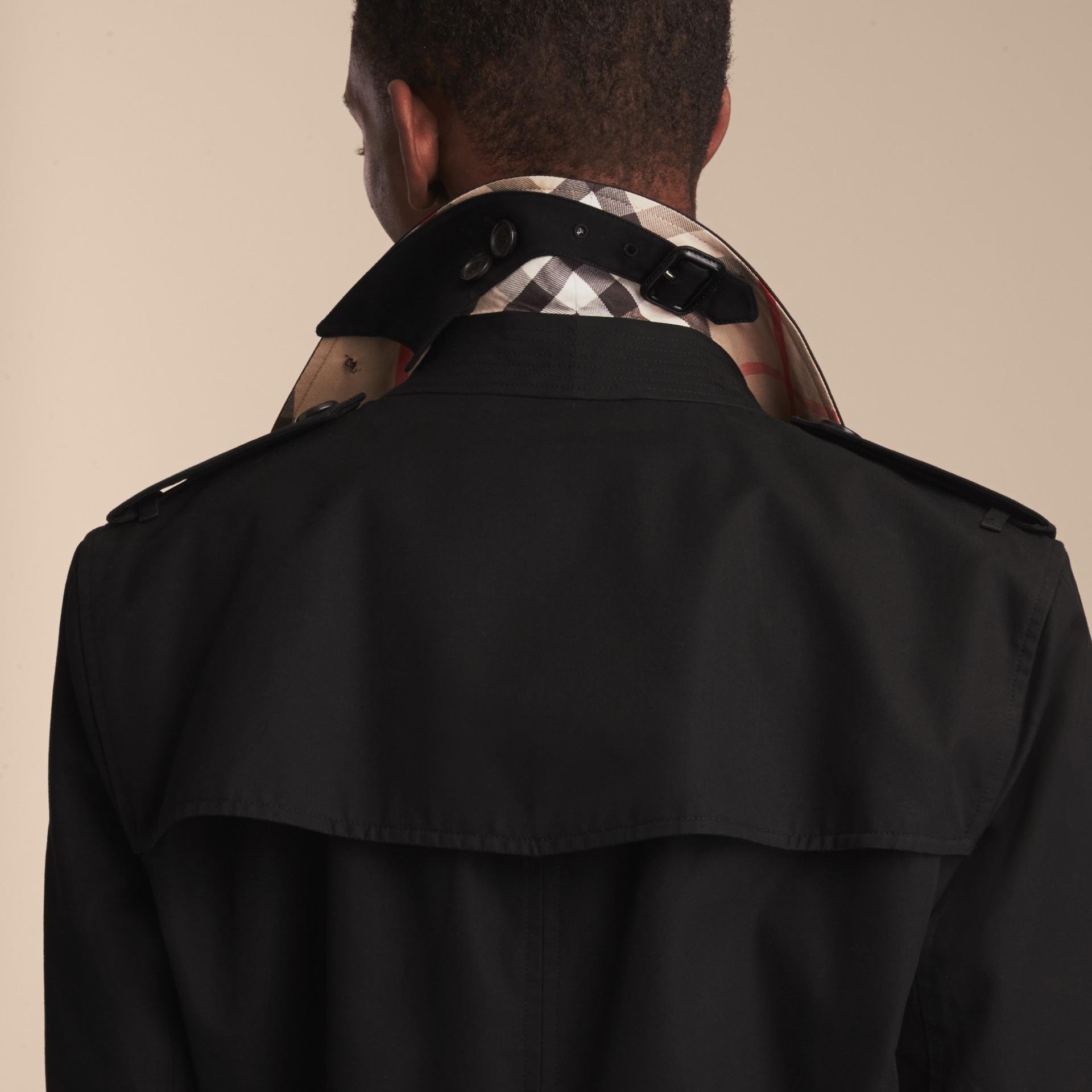 Noir The Sandringham – Trench-coat Heritage long Noir - photo de la galerie 6