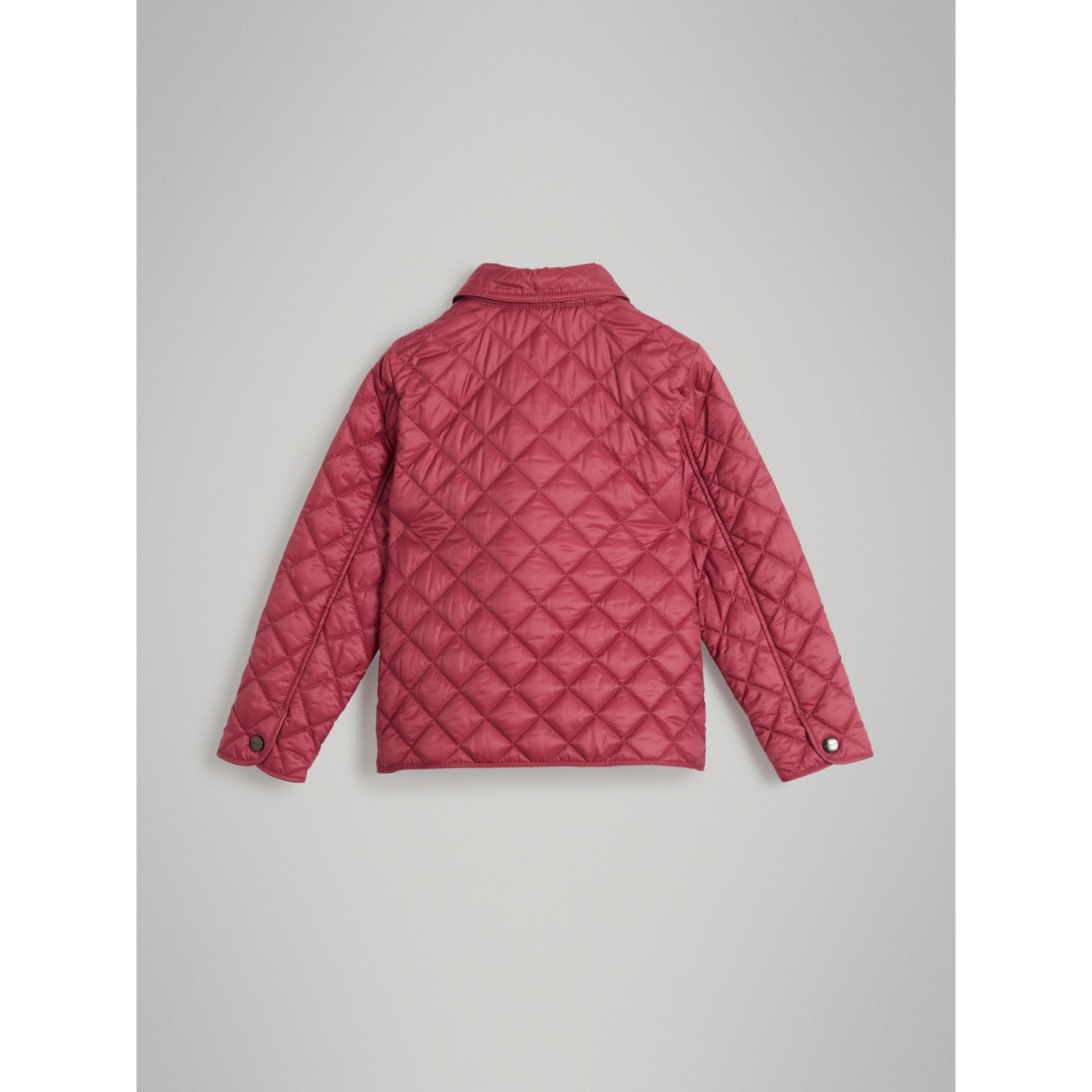 Lightweight Diamond Quilted Jacket in Peony Rose - Girl | Burberry - gallery image 3