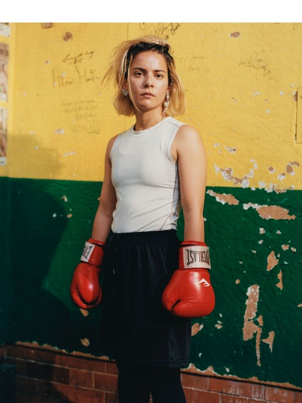 'As soon as I put on those gloves, everything else stops.' <br> Amina Khan. Boxing enthusiast.
