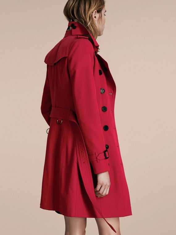Parade red The Chelsea – Mid-length Heritage Trench Coat Parade Red - cell image 2