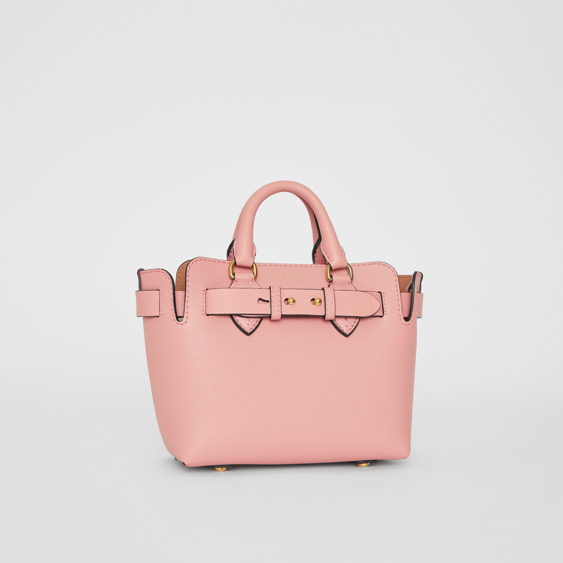 Borsa The Belt mini in pelle (Rosa Cenere) - Donna | Burberry - immagine della galleria 6