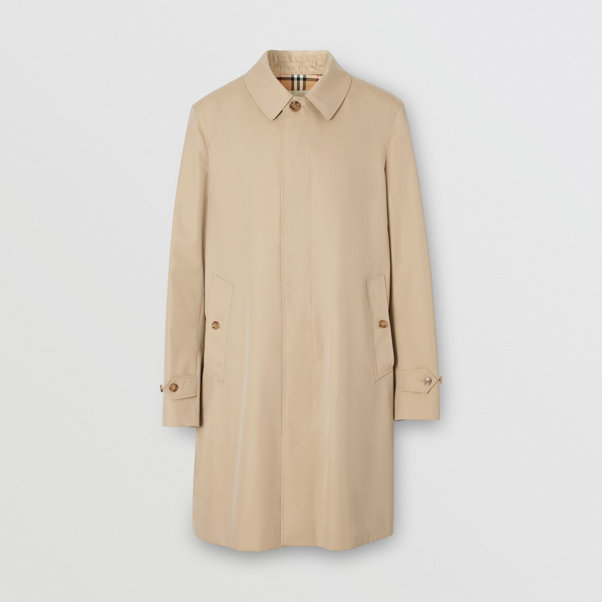 The Pimlico Heritage Car Coat (Honiggelb) - Herren | Burberry - Galerie-Bild 3