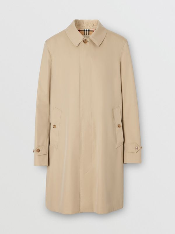 The Pimlico Car Coat in Honey - Men | Burberry - cell image 3