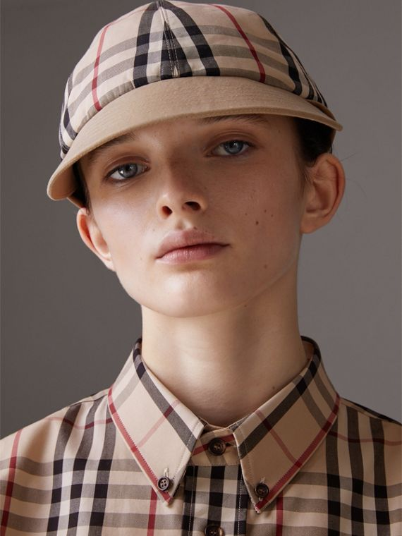 Gosha x Burberry Baseball Cap in Honey | Burberry Singapore - cell image 3