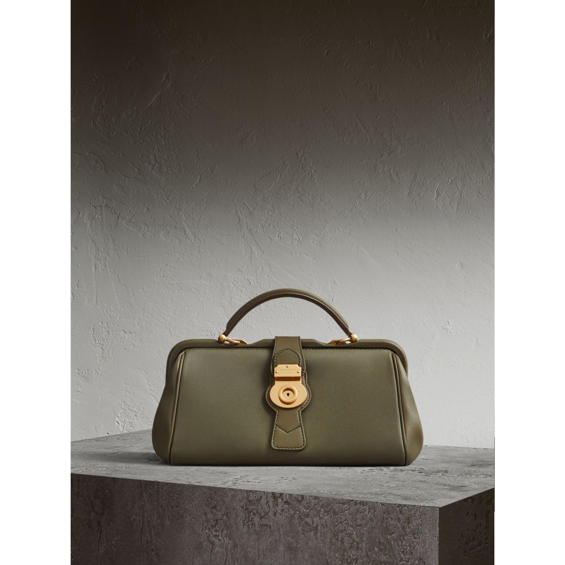 The DK88 Bowling Bag in Moss Green - Women | Burberry Hong Kong - gallery image 1