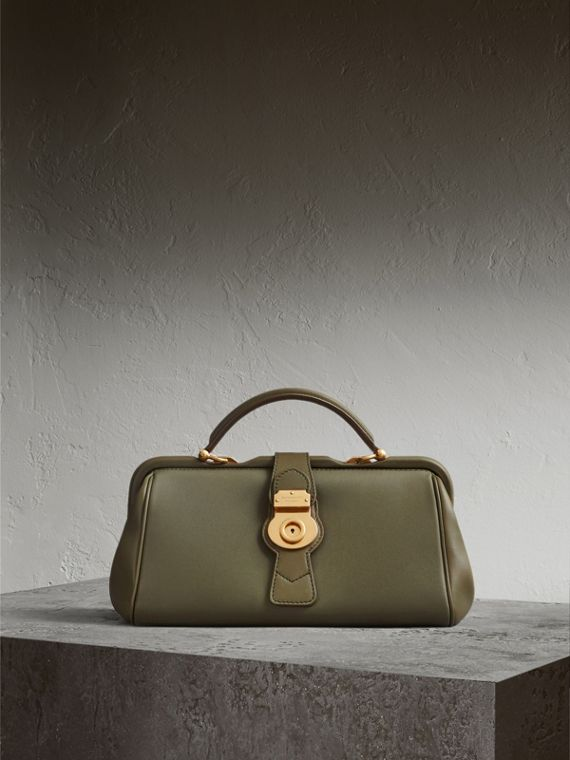 The DK88 Bowling Bag in Moss Green - Women | Burberry