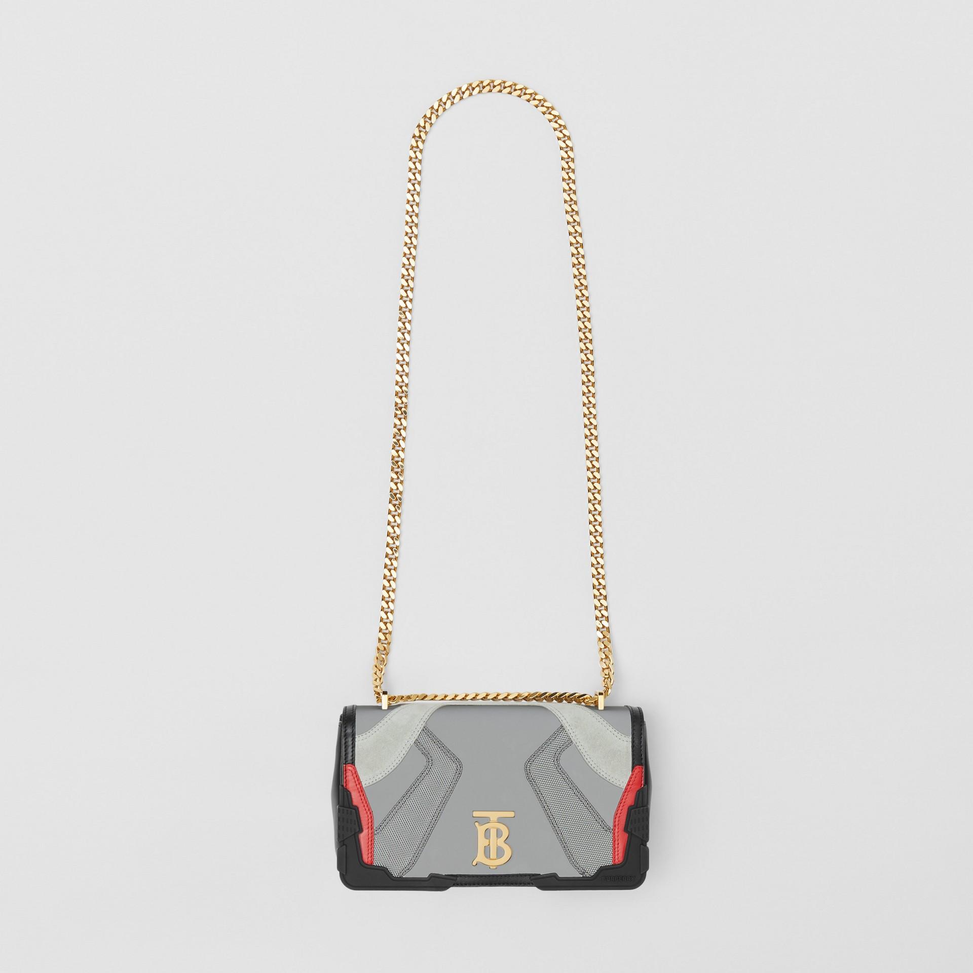 Small Appliqué Leather Lola Bag in Multicolour - Women | Burberry United Kingdom - gallery image 2