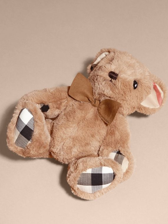 Thomas Baby Bear with Check Detail in Camel - Children | Burberry Australia - cell image 2