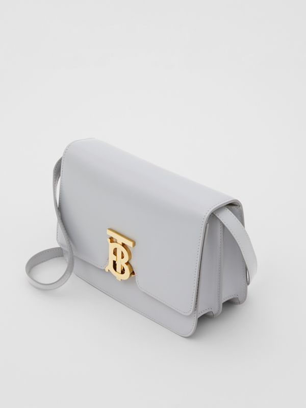 Small Leather TB Bag in Heather Melange | Burberry - cell image 3