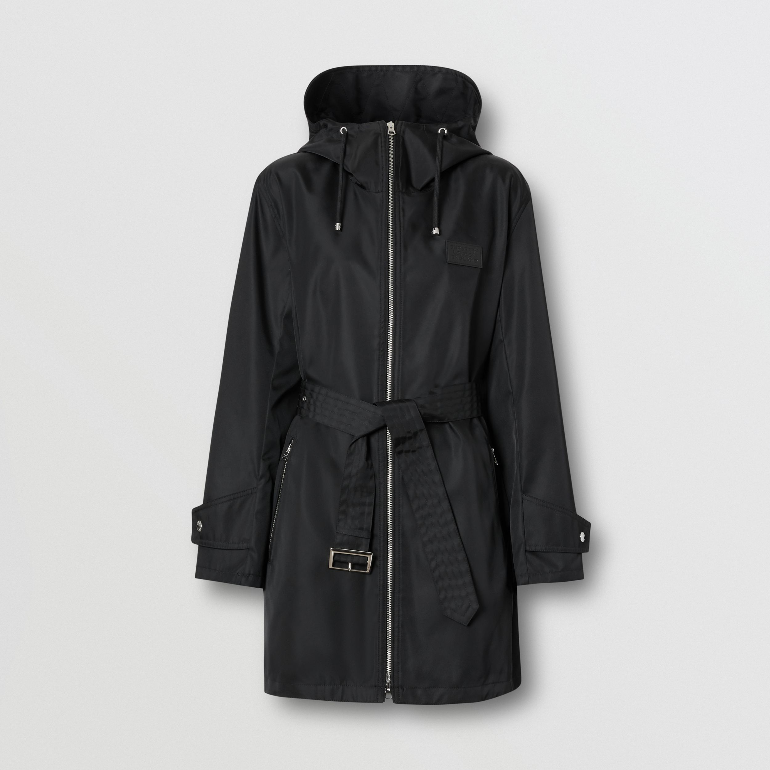 ECONYL® Parka in Black - Women | Burberry - 4