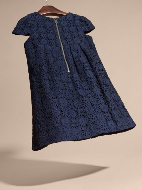 English Lace Dress in Navy - cell image 3
