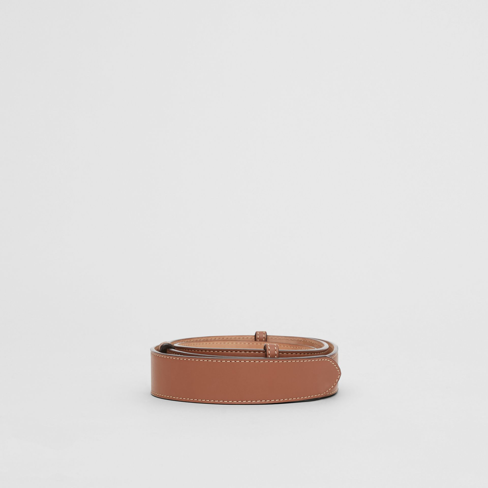 Triple Stud Leather Belt in Malt Brown - Women | Burberry Singapore - gallery image 4