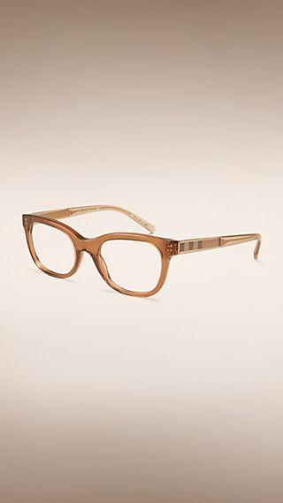 Check Detail Oval Optical Frames