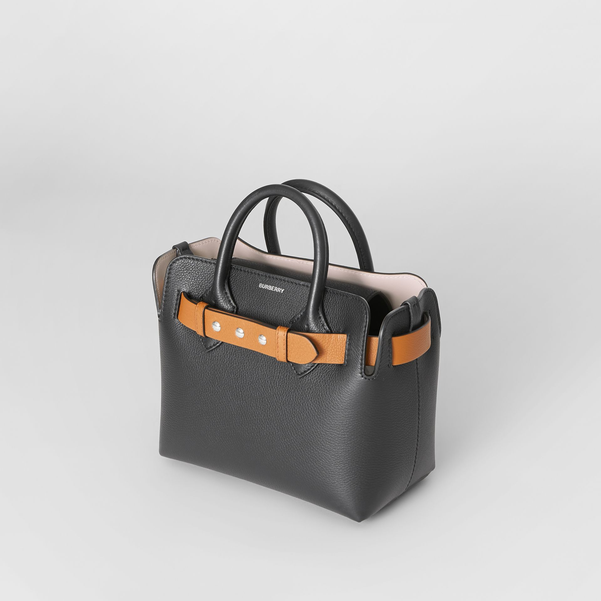 Borsa The Belt mini in pelle con tre borchie (Nero) - Donna | Burberry - immagine della galleria 3