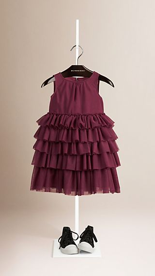 Ruffle Tulle Dress