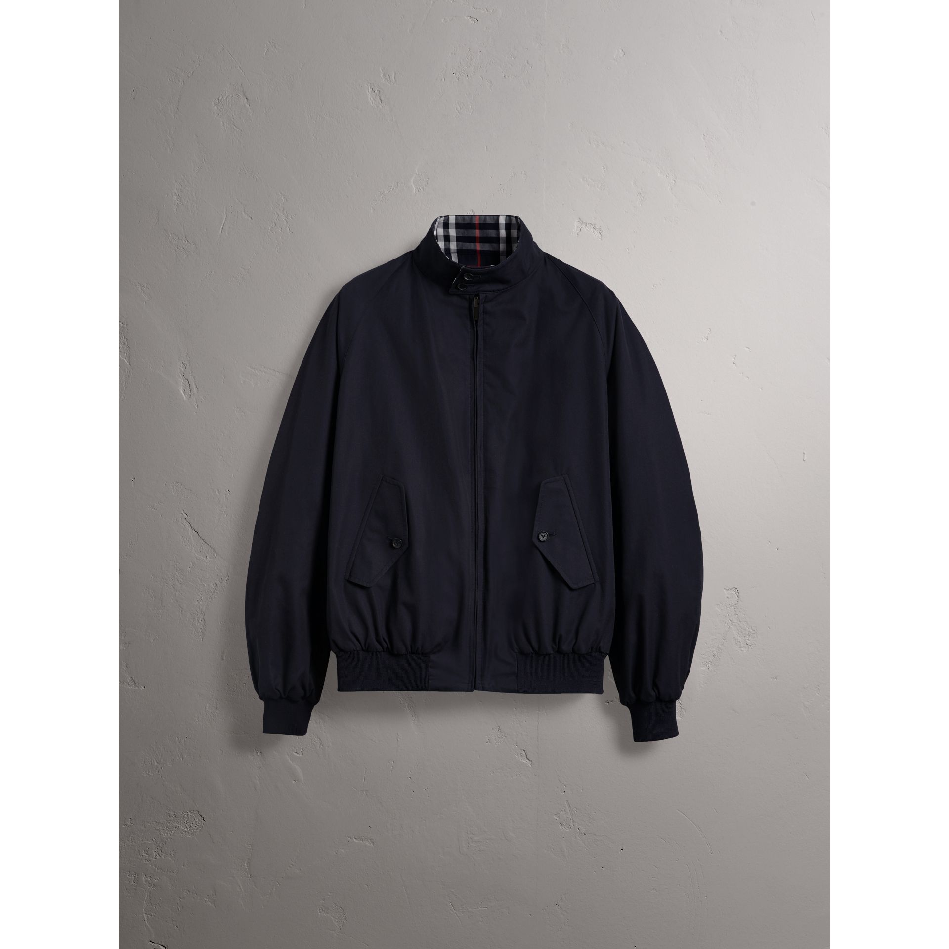 Gosha x Burberry Reversible Harrington Jacket in Navy | Burberry United Kingdom - gallery image 4