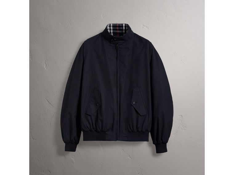 Gosha x Burberry Reversible Harrington Jacket in Navy | Burberry United Kingdom - cell image 4