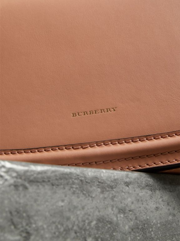 The Leather Link Bag in Peach - Women | Burberry United Kingdom - cell image 1