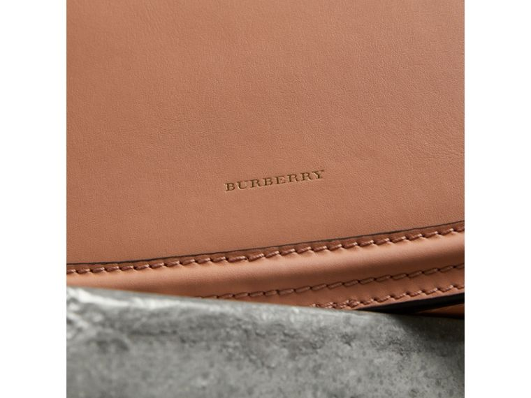The Leather Link Bag in Peach - Women | Burberry - cell image 1