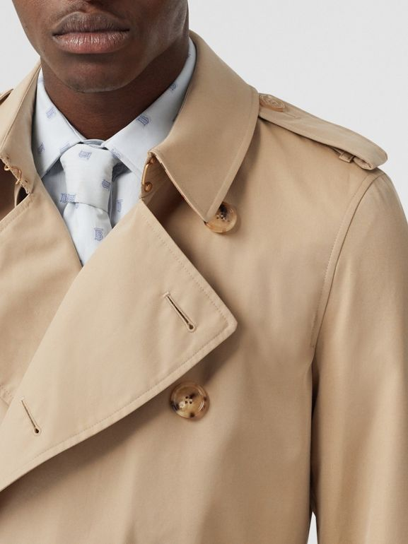 Short Chelsea Fit Trench Coat in Honey - Men | Burberry United States - cell image 1
