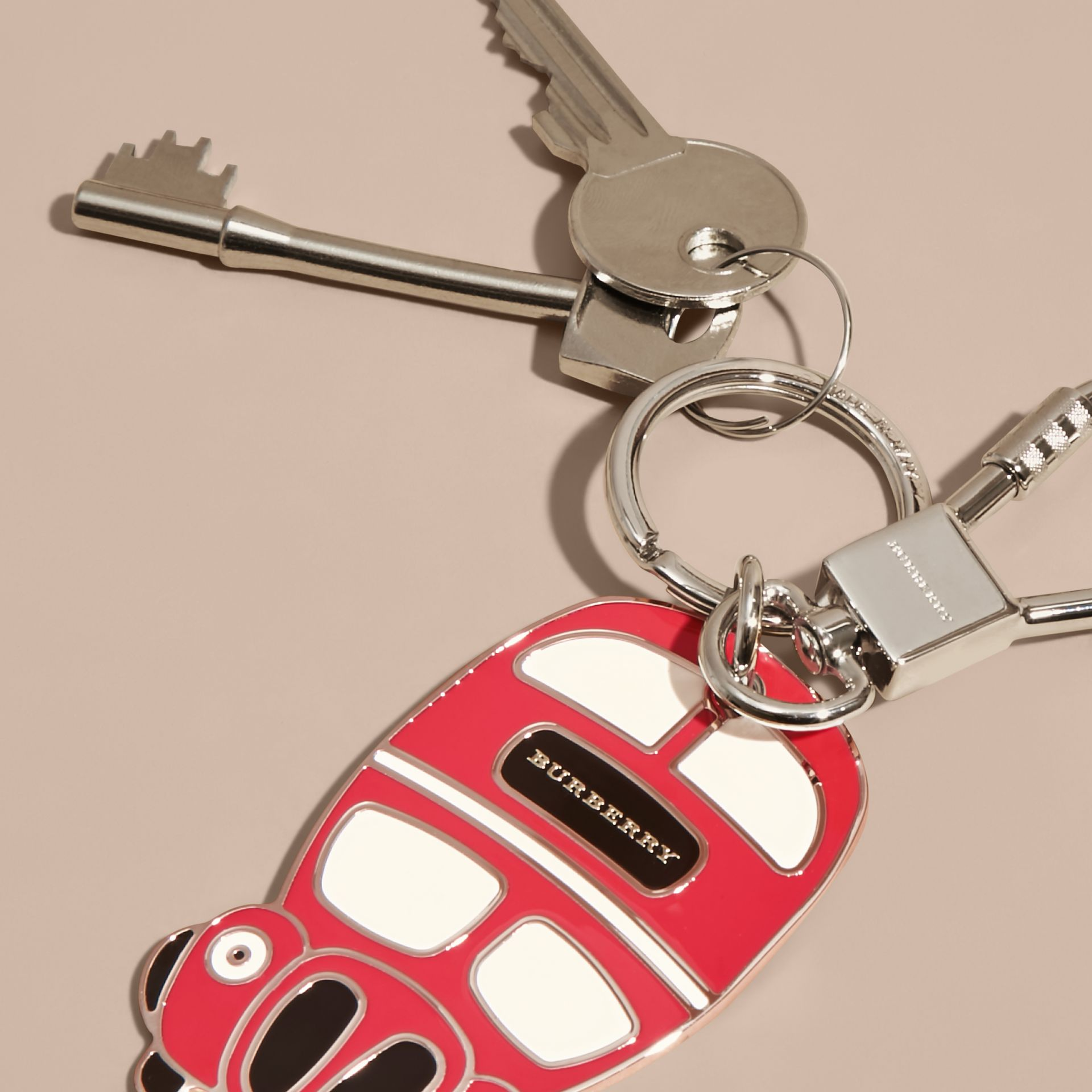 Double-decker Bus Key Charm - gallery image 3