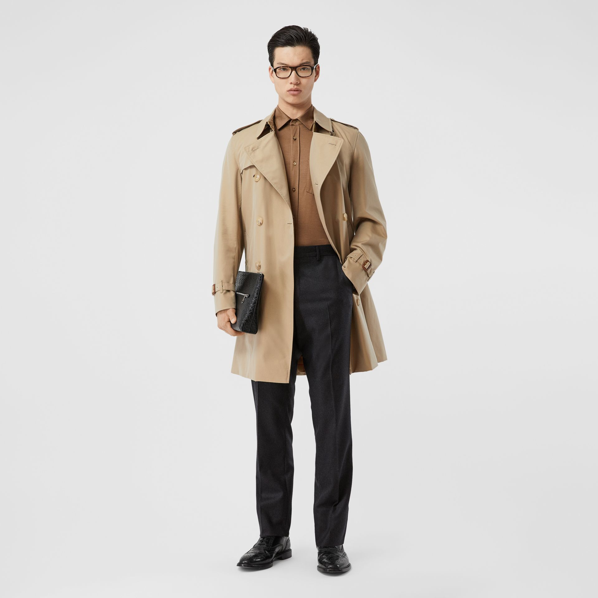 The Chelsea Heritage Trench Coat in Honey - Men | Burberry - gallery image 0