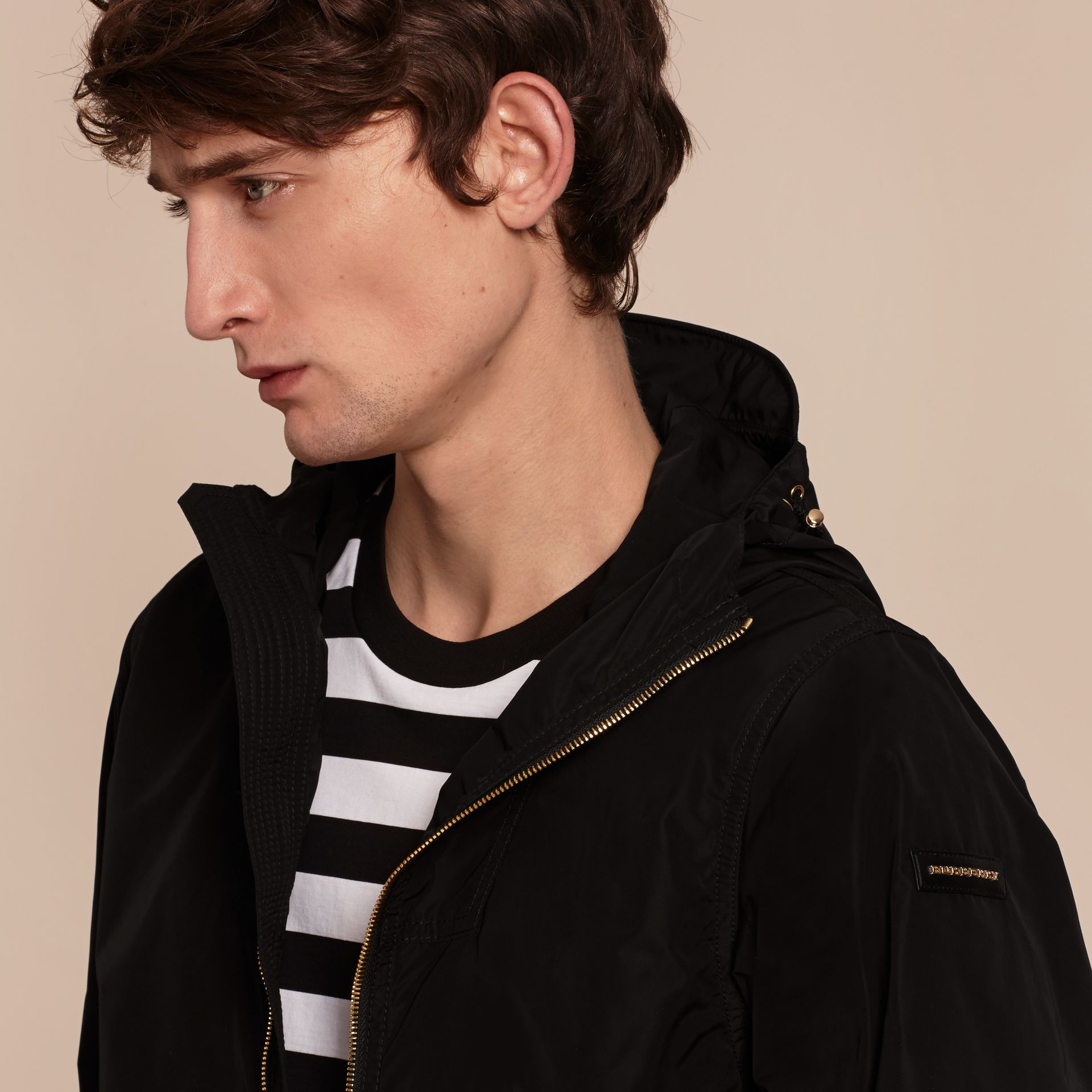 Hooded Lightweight Technical Jacket - Men | Burberry - gallery image 5