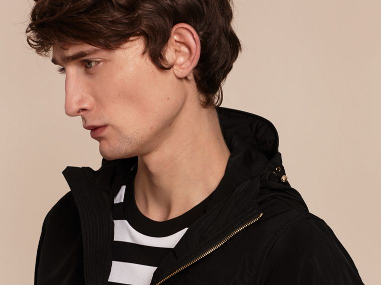 Hooded Lightweight Technical Jacket - Men | Burberry - cell image 4