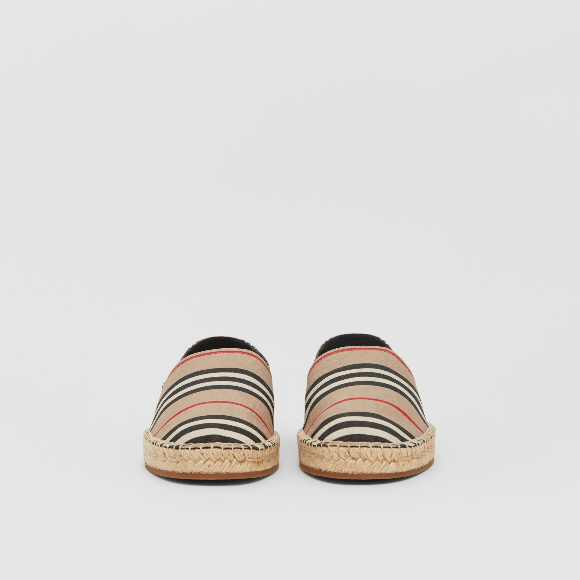 Icon Stripe Espadrilles in Archive Beige - Men | Burberry United Kingdom - gallery image 2