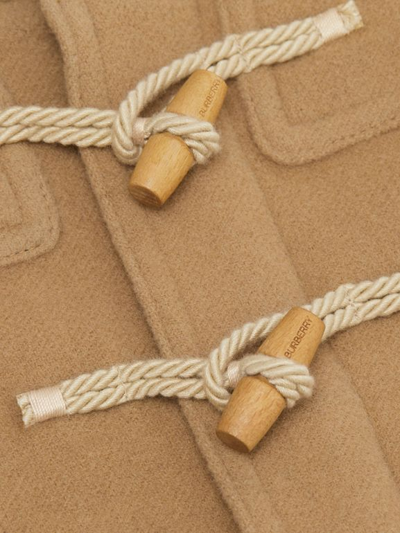 Boiled Wool Duffle Coat in Archive Beige - Children | Burberry - cell image 1