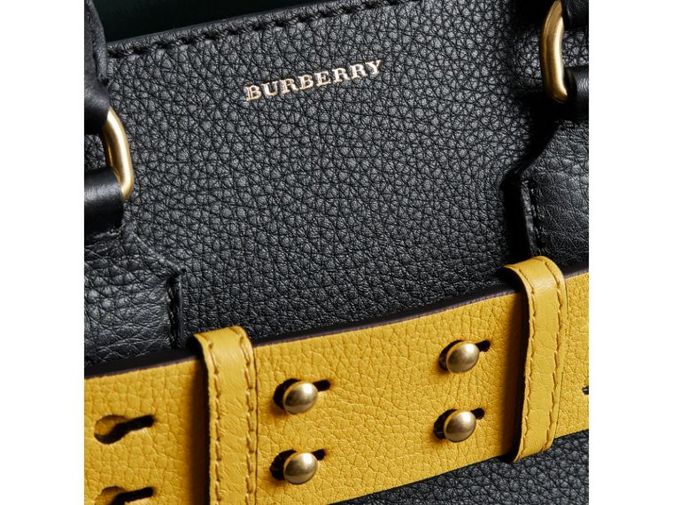 The Small Belt Bag aus Leder (Schwarz/gelb) - Damen | Burberry - cell image 1
