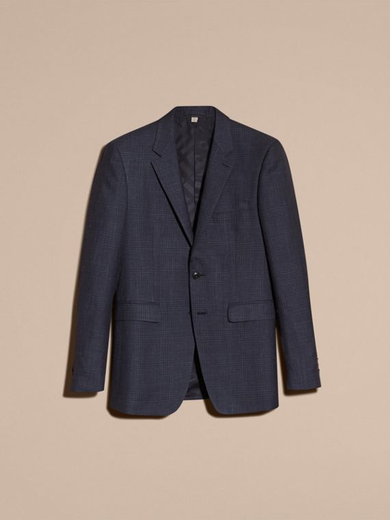 Modern Fit Wool Silk Blend Half-canvas Suit - cell image 3