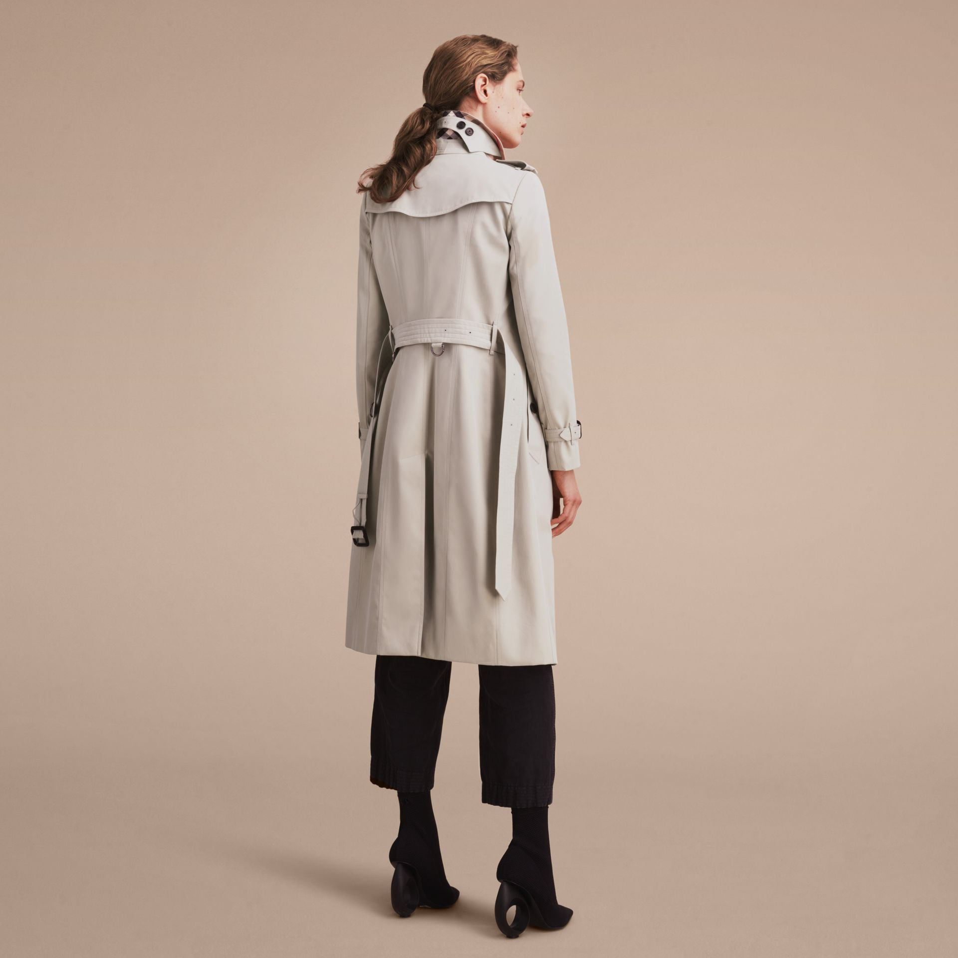 Stone The Chelsea – Extra-long Heritage Trench Coat Stone - gallery image 4