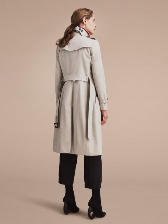 Stone The Chelsea – Extra-long Heritage Trench Coat Stone - cell image 3